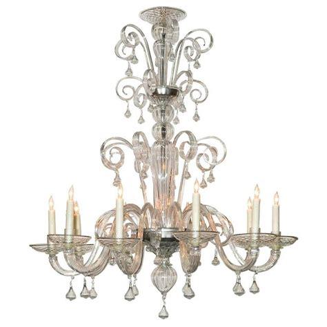 blown chandelier italian blown glass chandelier for sale at 1stdibs