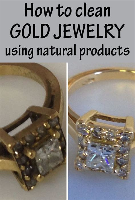 how to make jewelry cleaner for gold how to clean gold jewelry using products colors