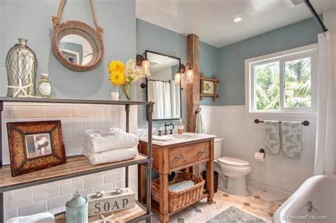 Rustic Themed Bathroom by Wonderful Themed Bathroom Decor Ideas Decohoms