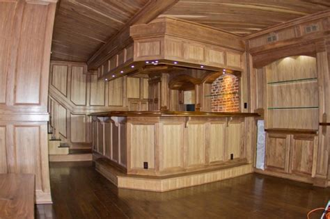 custom woodworking cave townhome downtown rustic home bar