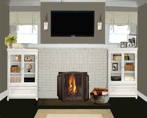 paint colors for fireplace painting brick fireplace designs ideas small room