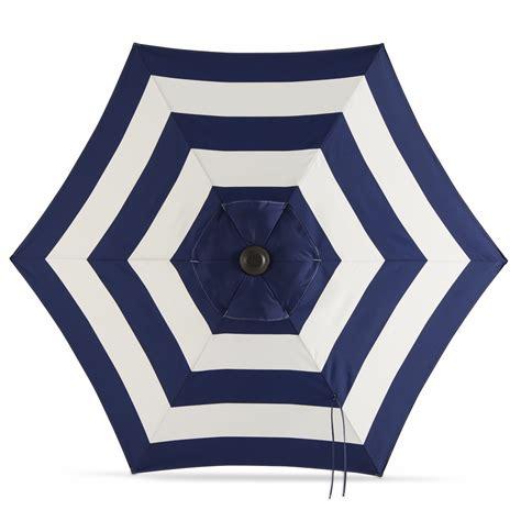 blue and white patio umbrella navy blue and white striped patio umbrella 28 images
