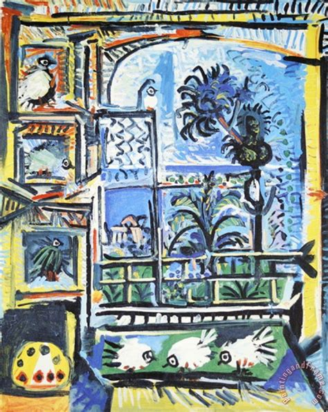 picasso paintings sale price pablo picasso les pigeons painting les pigeons print for
