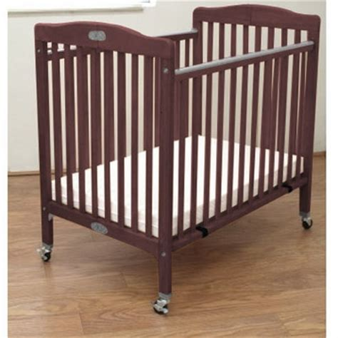 la baby portable crib la baby wood folding portable crib in cherry free shipping