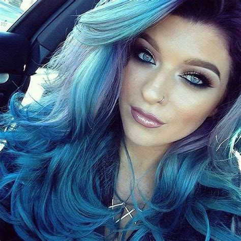 blue hair blue hair color ideas for 2015