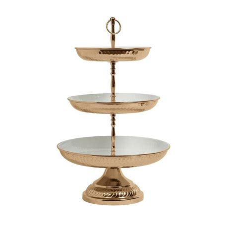 cake stand deluxe three tier cake stand by bell blue