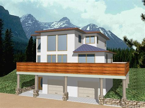 house plans for sloping lots house plans for sloping lots smalltowndjs