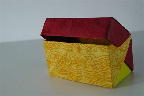 Origami Box With Lid Tavin S Origami