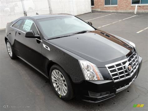 2012 Black Cadillac Cts by Black 2012 Cadillac Cts Coupe Exterior Photo