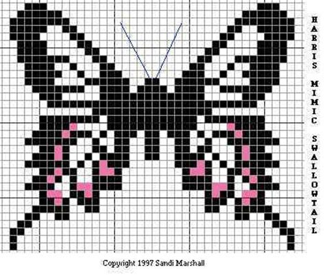 butterfly knitting chart 17 best images about knitting charts on perler