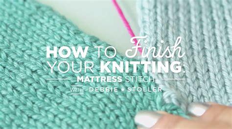 mattress stitch knitting 301 moved permanently