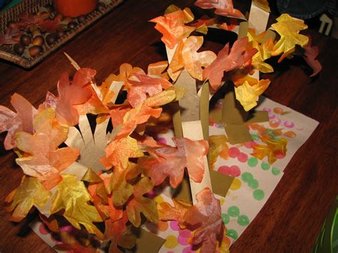 fall paper crafts paper towel roll fall tree craft preschool education for