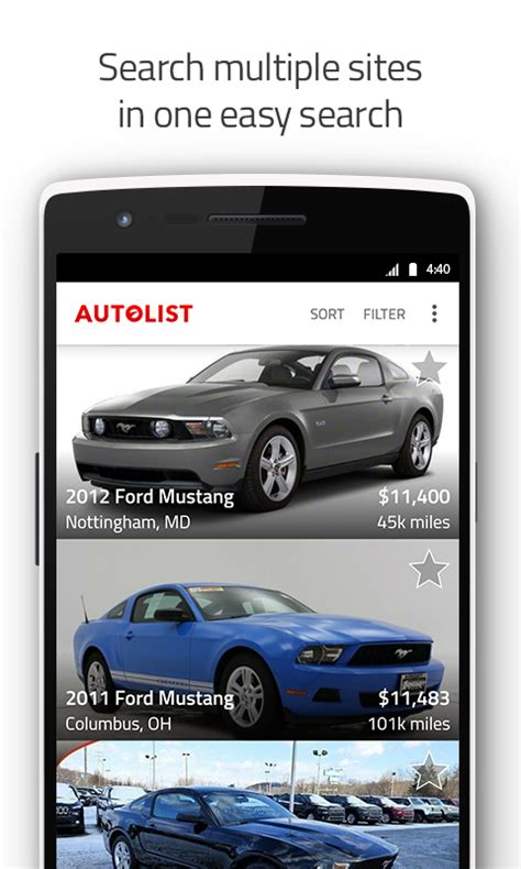 Used Car Apps by Used Cars And Trucks For Sale Android Apps On Play