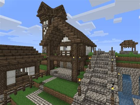 fashioned house fashioned minecraft houses house plans 4477