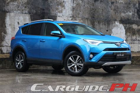 Toyota Rav4 Reviews 2016 by Review 2016 Toyota Rav4 4wd Premium Philippine Car News