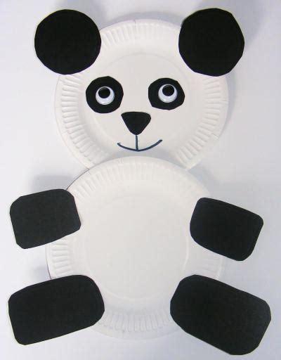 panda paper plate craft paper calendar calendar template 2016