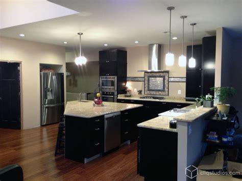 modern black kitchen cabinets black kitchen cabinets modern kitchen richmond by