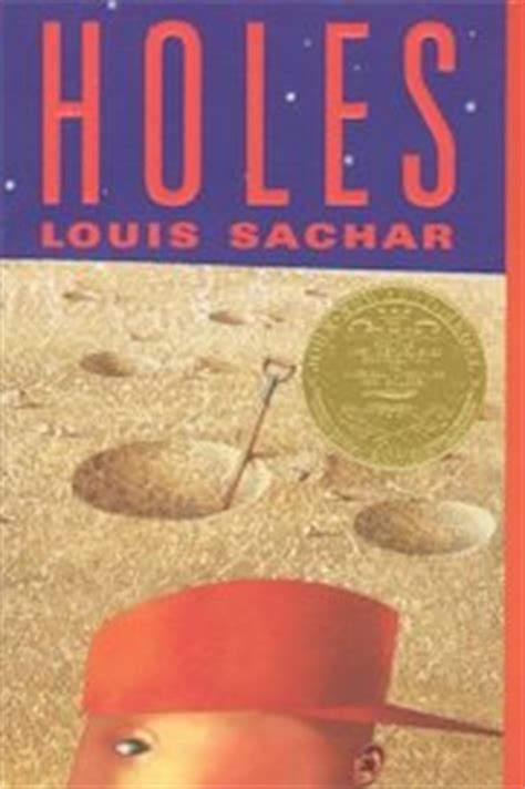 holes book pictures holes by louis sachar ya book newbery medal winner