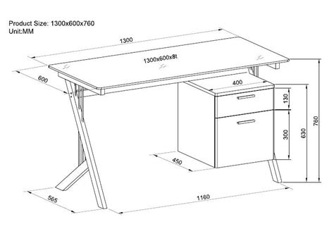 height of a computer desk woodwork standard computer desk dimensions pdf plans