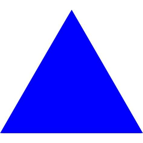 triangle blue blue triangle clip clipart best