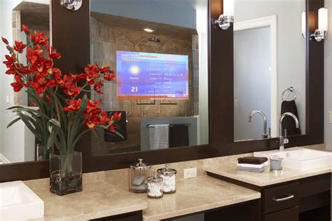 tv bathroom mirror enhanced series television mirror bathroom mirrors by
