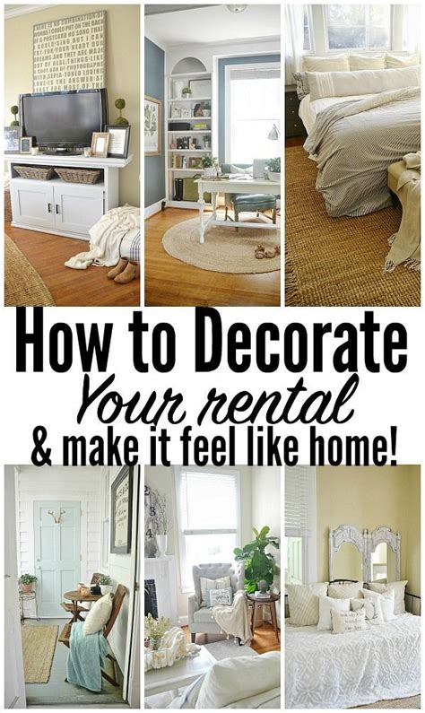 how to decorate house for 25 best ideas about rental decorating on diy