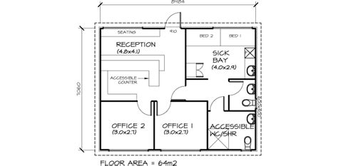 Accessible Bathroom Plans by Classrooms