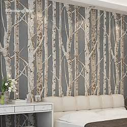paper wall murals blooming wall 60033 birch tree wallpaper wall mural wall