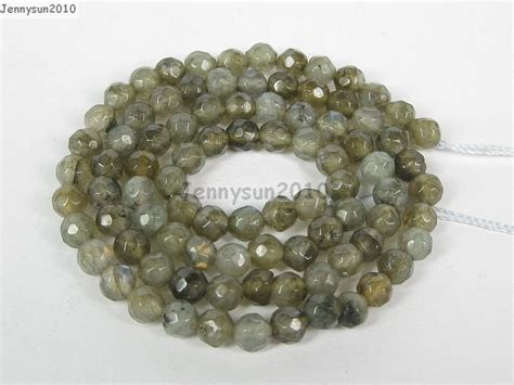 stones for jewelry labradorite gems stones 4mm faceted spacer