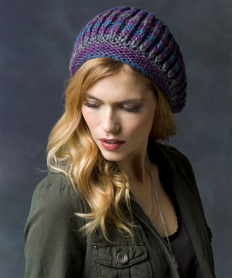 how to knit a beret knit beret hat pattern a knitting