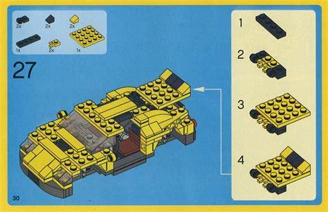 LEGO Cool Cars Instructions 4939, Creator