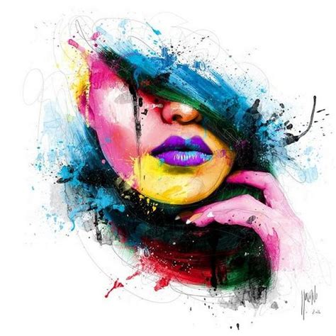 acrylic paint or watercolor acrylic paintings by patrice murciano