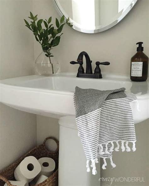 bathroom sink decorating ideas wonderful powder room decor simple bathroom design ideas pedestal sink turkish towels