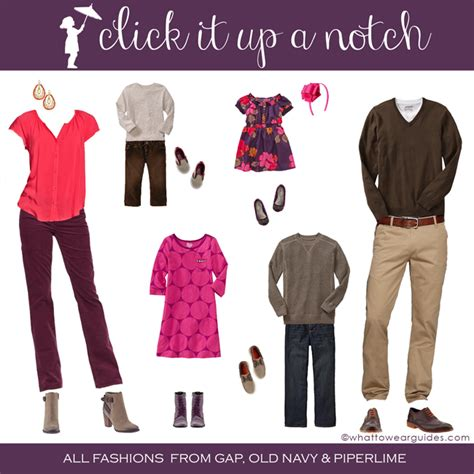 what to wear in what to wear in family photos september 2013 click it