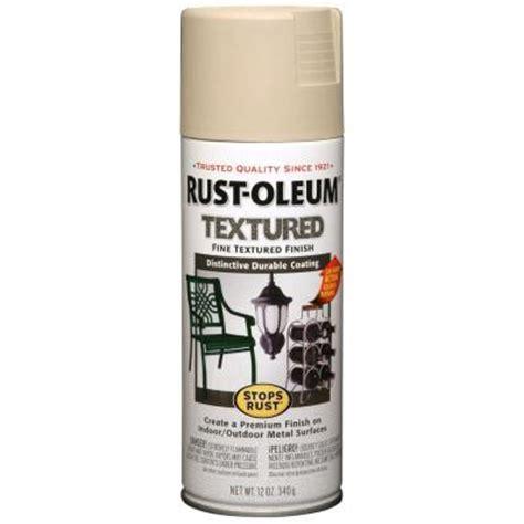 home depot rustoleum spray paint colors rust oleum stops rust 12 oz textured sandstone protective