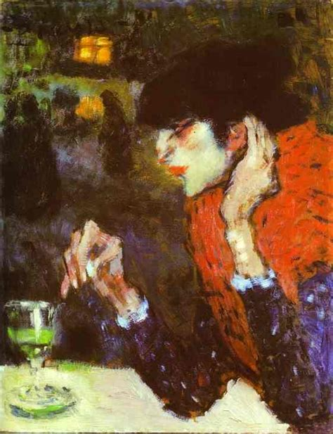 picasso paintings musee d orsay the absinthe drinker pablo picasso painting