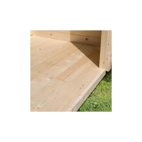 plancher pour abri de jardin en bois 2 21m 178 panneaux 14mm karibu