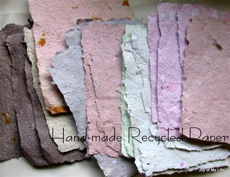 how to make handmade paper crafts the of my and other things craft recycled
