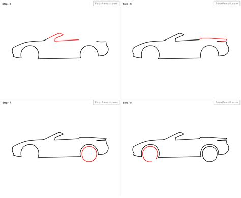 how to draw a car 8 steps with pictures wikihow kid race car drawing