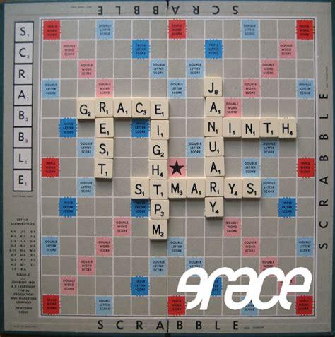 is ah a scrabble word blank scrabble board template