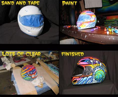 spray paint motorcycle helmet painting a helmet with paint pens drew brophy surf