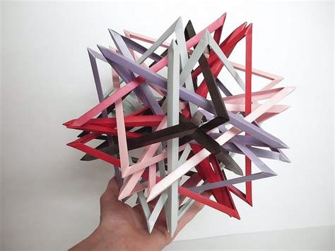 interlocking origami interlocking origami and prisms by byriah loper