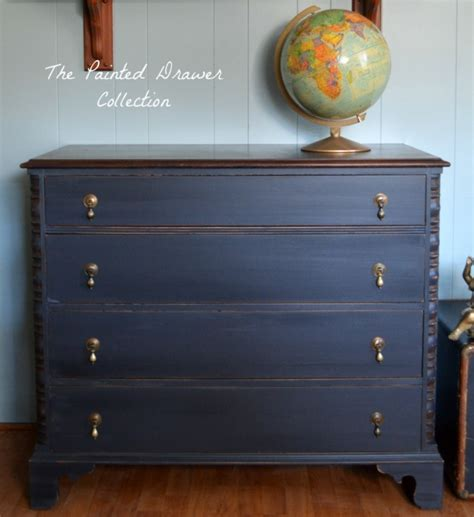 chalk paint top coat dresser in black pepper chalk style paint and flat out