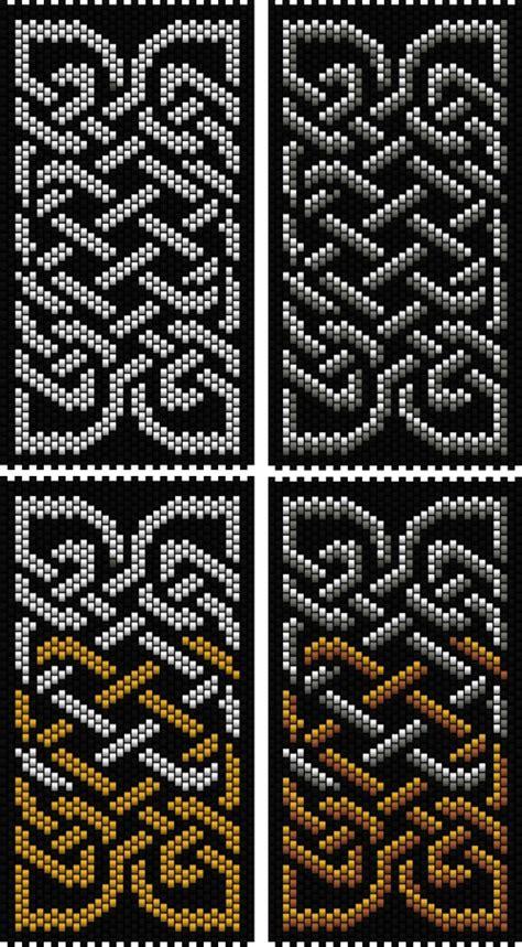celtic bead patterns celtic knot 4 peyote stitch sova enterprises