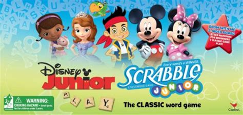 disney junior scrabble disney junior scrabble crossword board mickey mouse