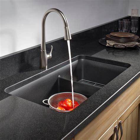kitchen sink rack kohler k 8204 cm1 cairn undermount bowl kitchen