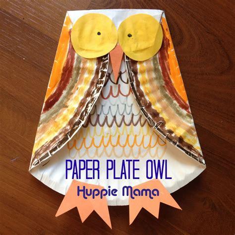 paper owls crafts crafts brownie meeting ideas