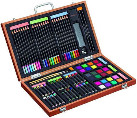 craft sets 82 deluxe set in wooden a mighty