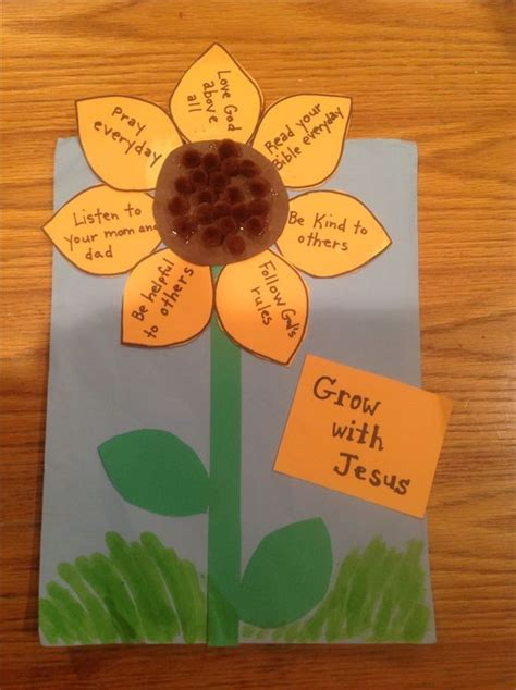 bible crafts for grow with jesus bible craft by let children s church