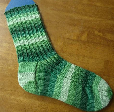 easy knit pattern free free sock knitting pattern melody s makings
